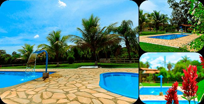 Aproveitando uma tarde de piscina